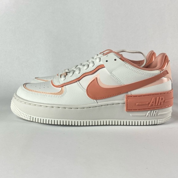 Nike Shoes Air Force 1 Shadow White Pink Poshmark